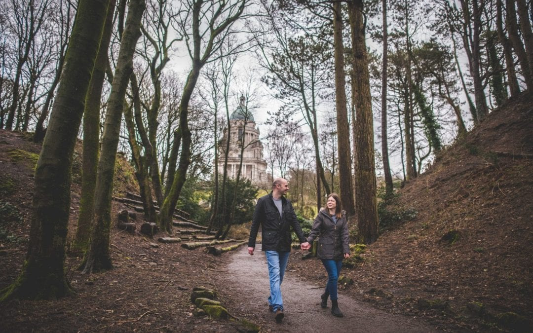 Williamson Park Engagement Shoot, Lancaster with Chris and Katie