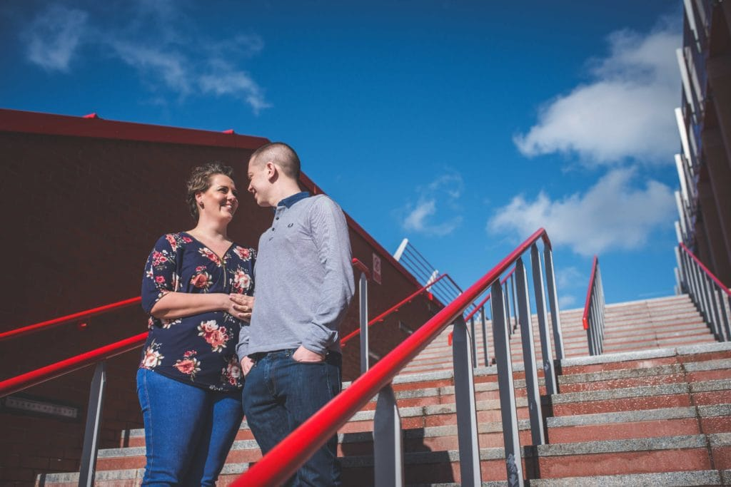 Anfield Stadium, Engagement shoot