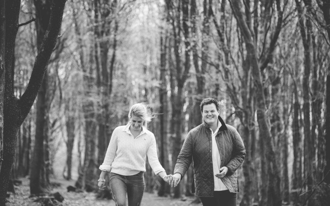 Winter Hill, Rivington Engagement Shoot with Josh and Elizabeth