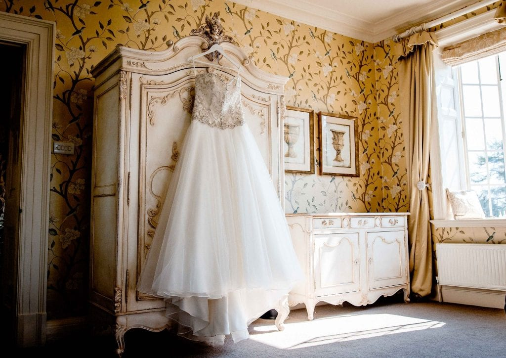 Wedding Dress photographed by Ollie Gyte Photography
