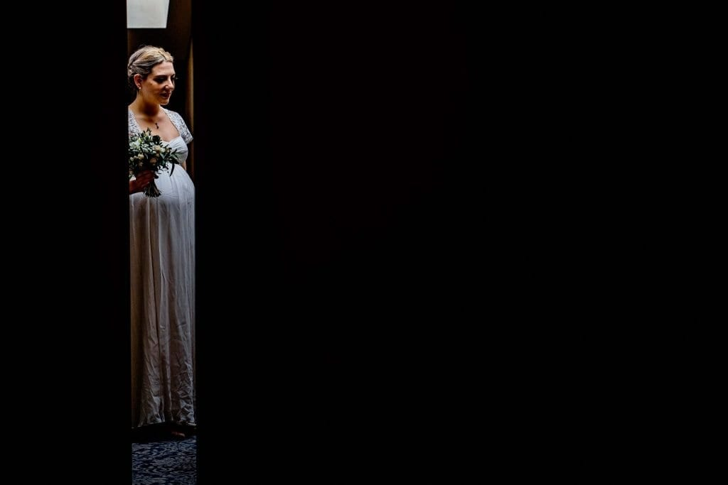 Last min nerves Lindeth Howe Hotel Windermere Wedding Photographer by Ollie Gyte Photography
